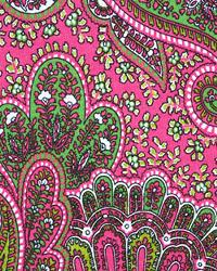 Pink Classic Paisley Fabric  Paisley Candy Pink