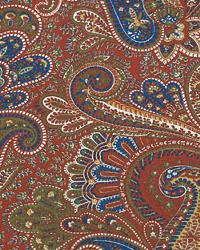 Beige Classic Paisley Fabric  Paisley Mardi Gras Linen