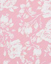 Pink Medium Print Floral Fabric  Pearl Baby Pink