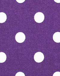Polka Dots LSU Purple Premier Prints - Cotton Prints