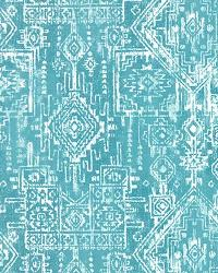 Blue Navajo Print Fabric  Sioux Coastal Blue