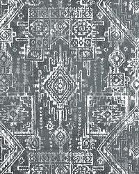Grey Navajo Print Fabric  Sioux Gunmetal Twill