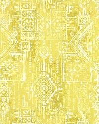 Yellow Navajo Print Fabric  Sioux Saffron
