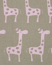 Pink Jungle Safari Fabric  Stretch Cozy Bella