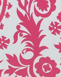 Pink Suzani Fabric  Suzani Candy Pink