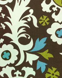 Brown Suzani Fabric  Suzani Chocolate Natural