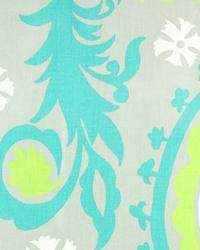 Suzani Harmony Green Twill by