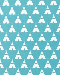 Tee Pee Coastal Blue White by