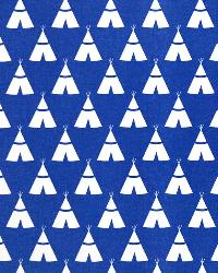 Tee Pee Cobalt White by