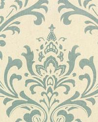 Premier Prints Traditions Village Blue Natural Fabric