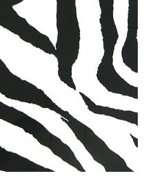 Premier Prints Zebra Black White Fabric