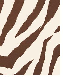 Premier Prints Zebra Chocolate Fabric