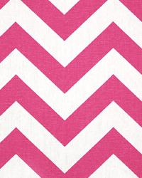 Premier Prints Zig Zag Candy Pink White Fabric