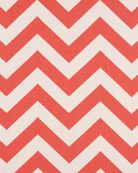 Zig Zag Coral White by