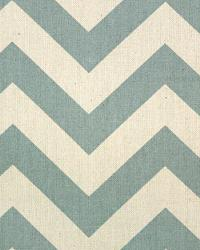 Zig Zag Village Blue Natural by