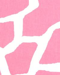 Giraffe Baby Pink White by