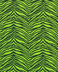 Premier Prints Little Tiger Chartreuse Black Fabric