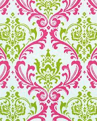 Premier Prints Madison Candy Pink Chartreuse Fabric