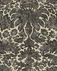 Ralph Lauren Antibes Batik Charcoal Fabric