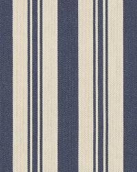 Ralph Lauren Arbaud Ticking Navy Fabric