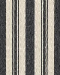 Ralph Lauren Arbaud Ticking Noir Fabric