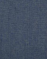 Blue Solid Color Denim Fabric  Workman Denim LCF66613F  Aged Blue