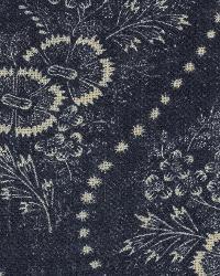 Etienne Floral Stripe Indigo by