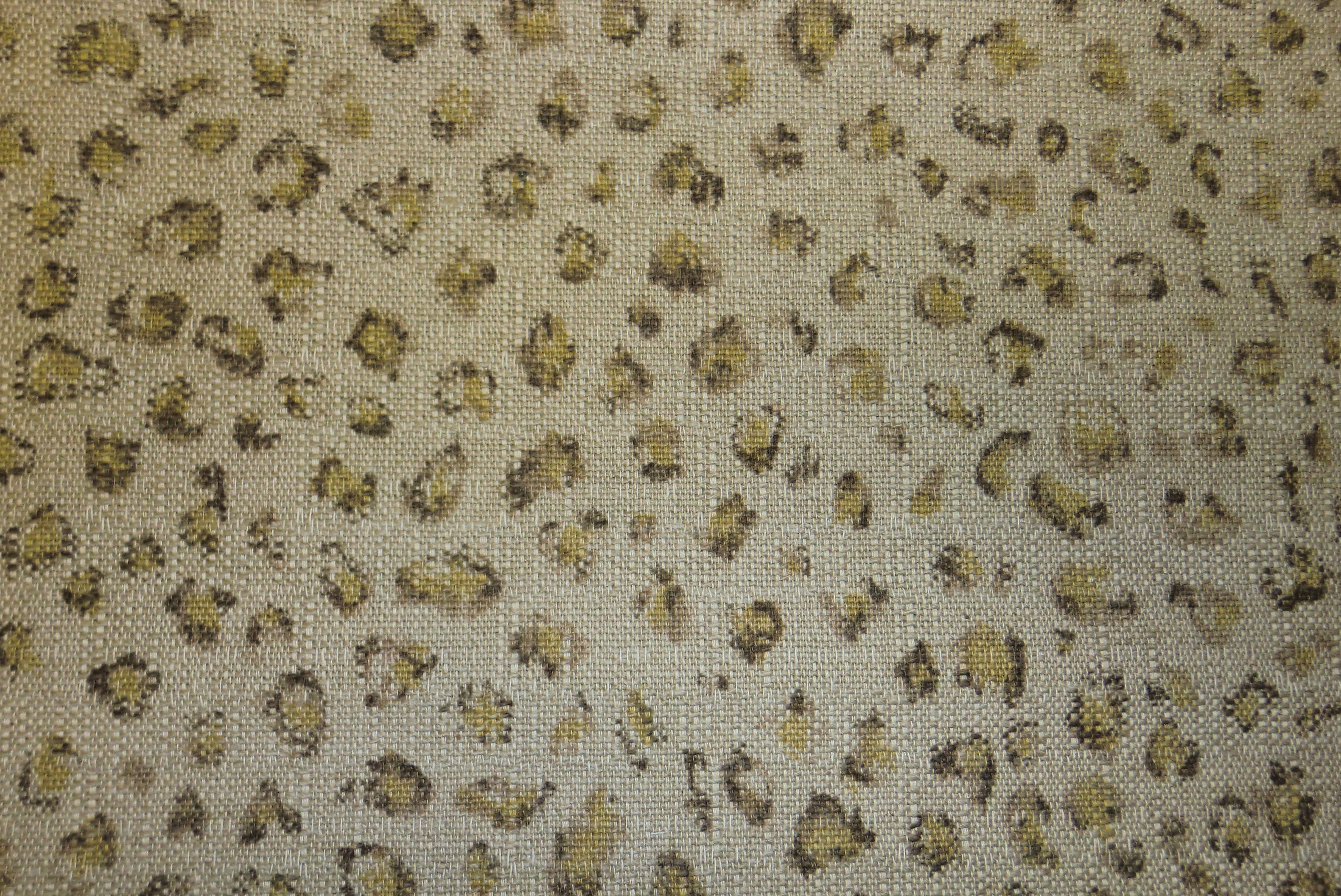 Ralph Lauren Fabrics Leopard Print Sand