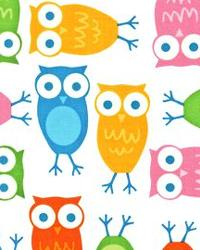 Urban Zoologie Owls White by