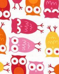 Urban Zoologie Owls Pink by