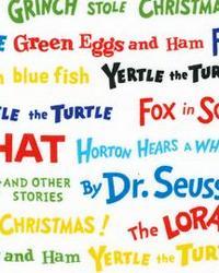 Celebrate Seuss Words Celebration by