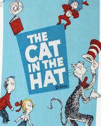 The Cat in the Hat Dreamie Fleece Panel by