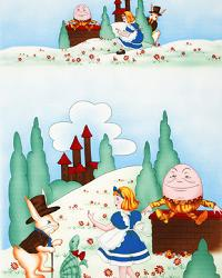 Adventures with Alice Humpty Dumpty Vintage by