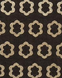 Brown Floral Diamond Fabric  Valhalla Night
