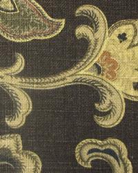 Brown Medium Print Floral Fabric  Bayside Expo Terrain