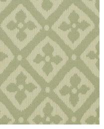 Green Floral Diamond Fabric  Bhopal Agean