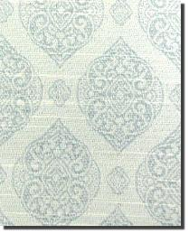 Blue Trellis Diamond Fabric  Bransle Sterling