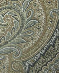 Grey Classic Paisley Fabric  Daring Curves Caviar