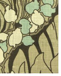 Brown Floral Diamond Fabric  Dellacqua Bermuda