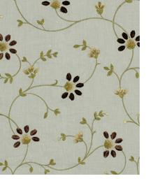 Blue Small Print Floral Fabric  Galway Bay Robins Egg