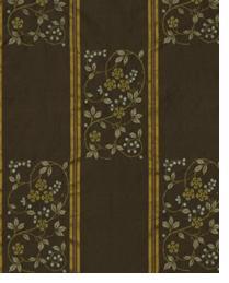 Brown Small Print Floral Fabric  Gwenevere Portobello