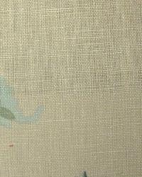 Medium Print Floral Fabric  Rambling Vines Tarragon