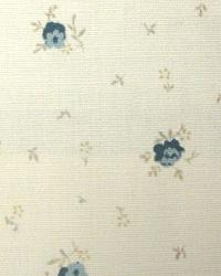 Blue Small Print Floral Fabric  Rosebury Skipper