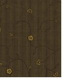 Brown Small Print Floral Fabric  Top Design Dusk