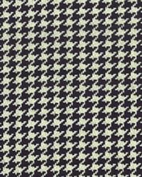 Houndstooth Black and White by