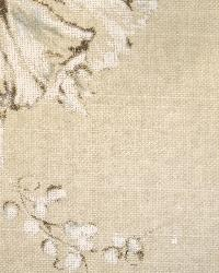 Large Print Floral Fabric  Summers Night Linen