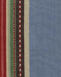 Blue Navajo Print Fabric  Trails End Blue