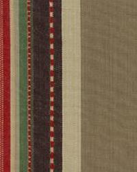 Beige Navajo Print Fabric  Trails End Linen