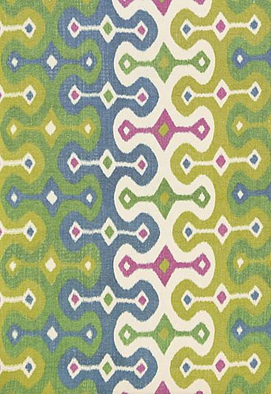 Schumacher fabric darya ikat 174834 jewel for Schumacher martyn lawrence bullard