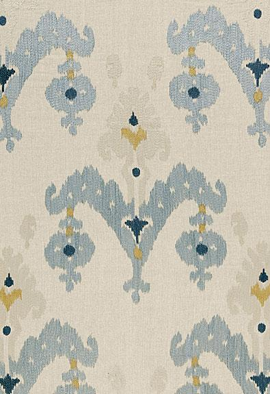 Schumacher fabric raja embroidery 65813 stone for Schumacher martyn lawrence bullard
